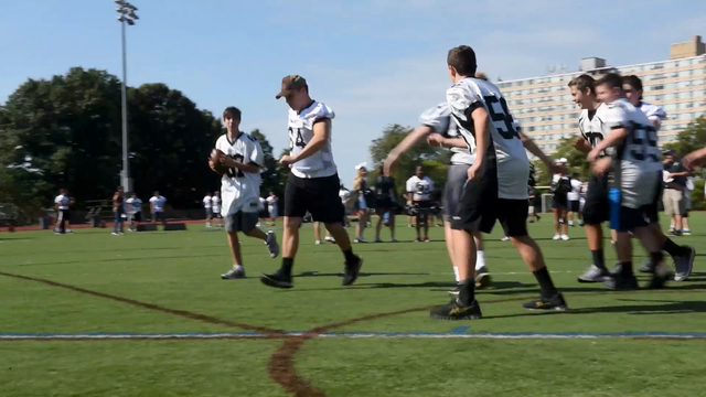 Watch: Bishop Eustace Prep football holds Victory Day