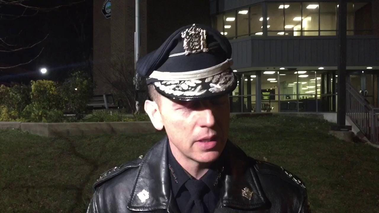 WATCH: Chief describes fugitive's arrest