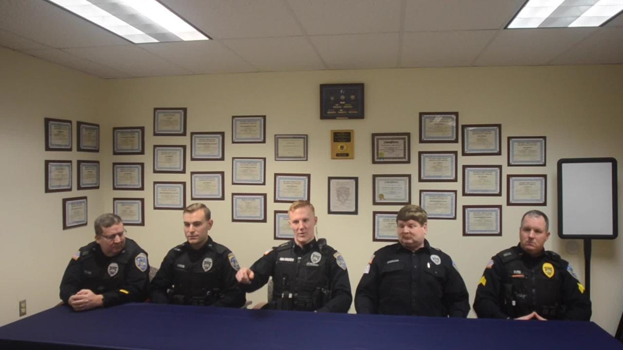 Video: Hero cops tell life-saving story