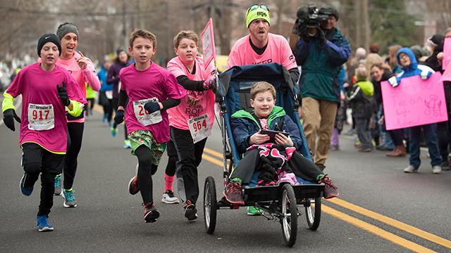 Woodbury Principal races for autism inclusion