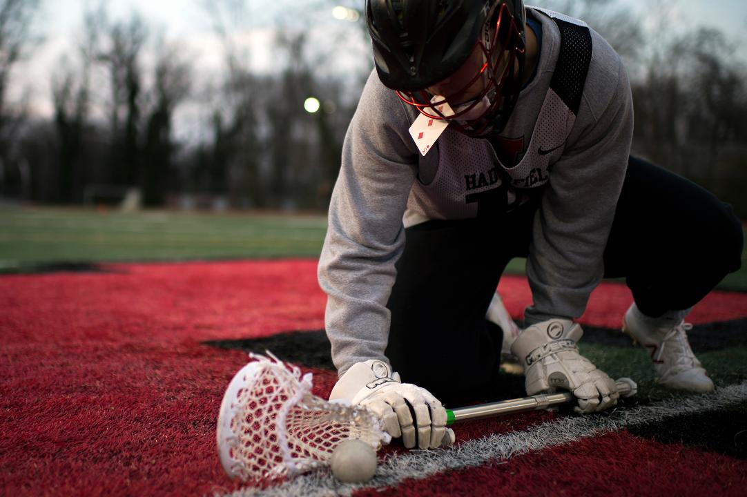 Haddonfield varsity lacrosse player Mitchell Rothstein discusses what it's like to be one of the top face-off players in the country, as well as a magician on and off the field.