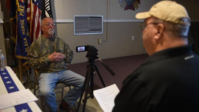 Watch: Camden County Office of Veterans Affairs films All Wars Video
