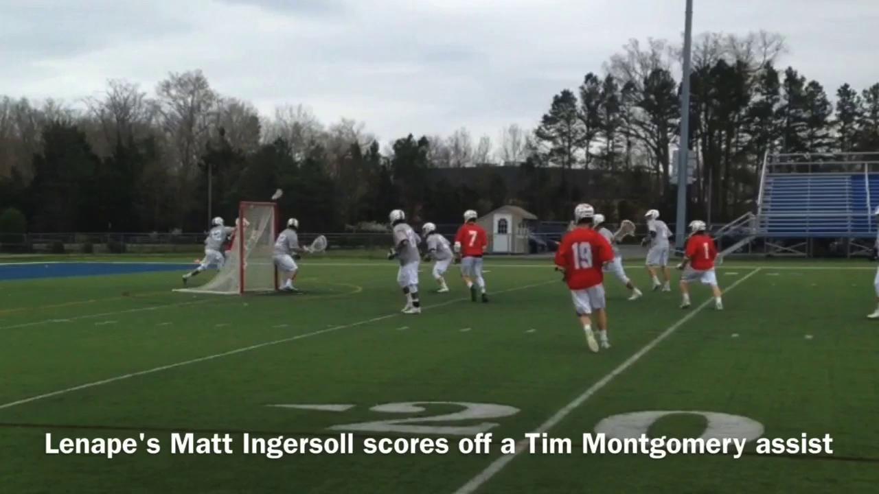 Lenape-St. Augustine lacrosse highlights