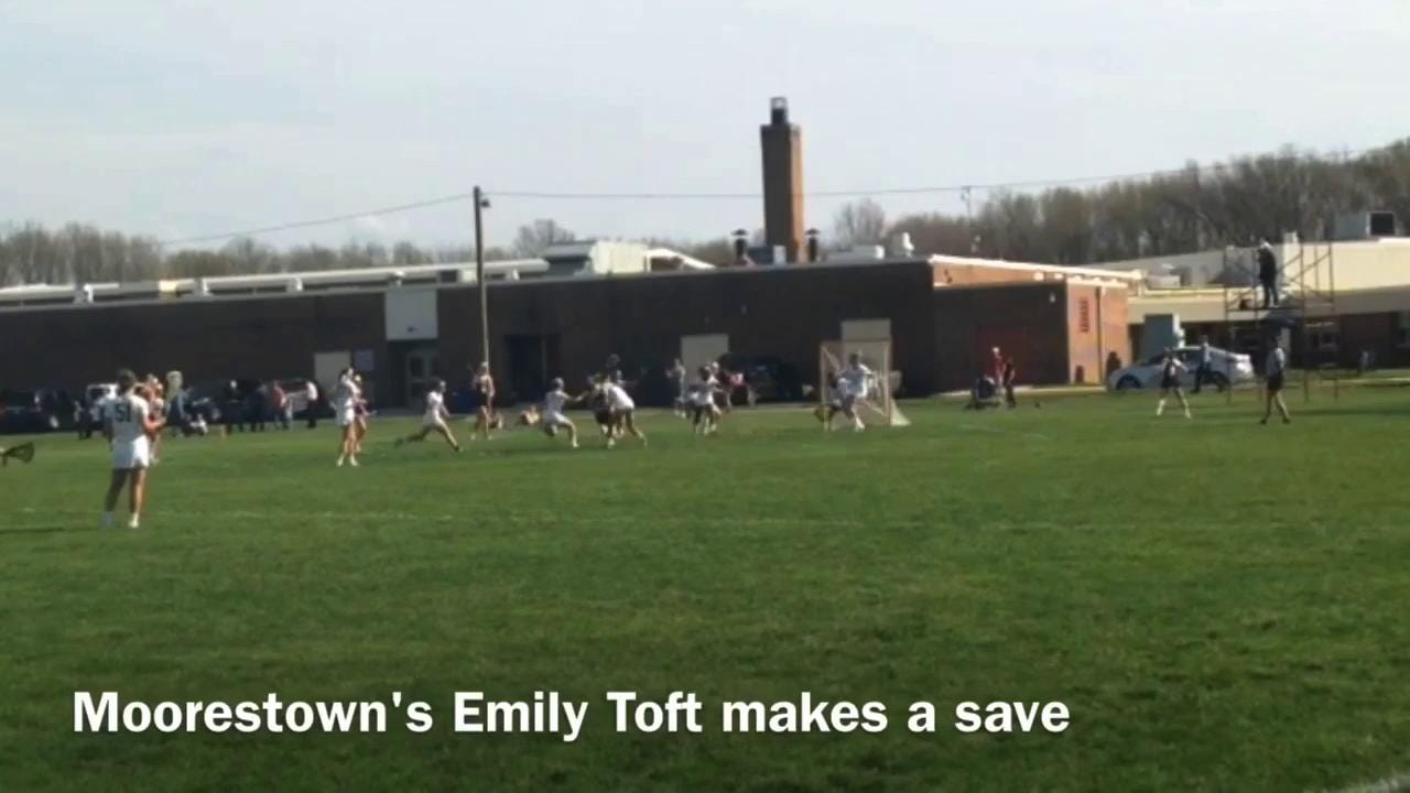Moorestown - Bridgewater-Raritan girls lacrosse highlights