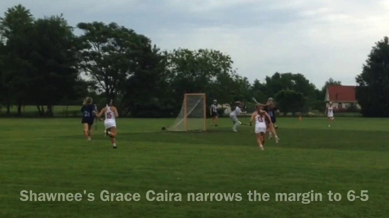 Lenape-Shawnee girls lacrosse highlights