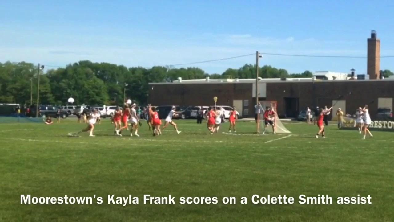 Moorestown-Lenape girls lacrosse highlights