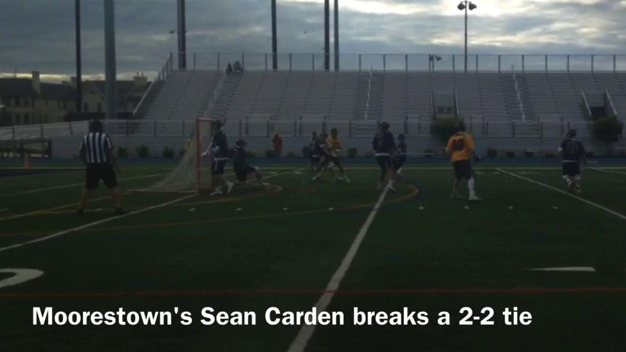 Moorestown-Pingry boys lacrosse highlights