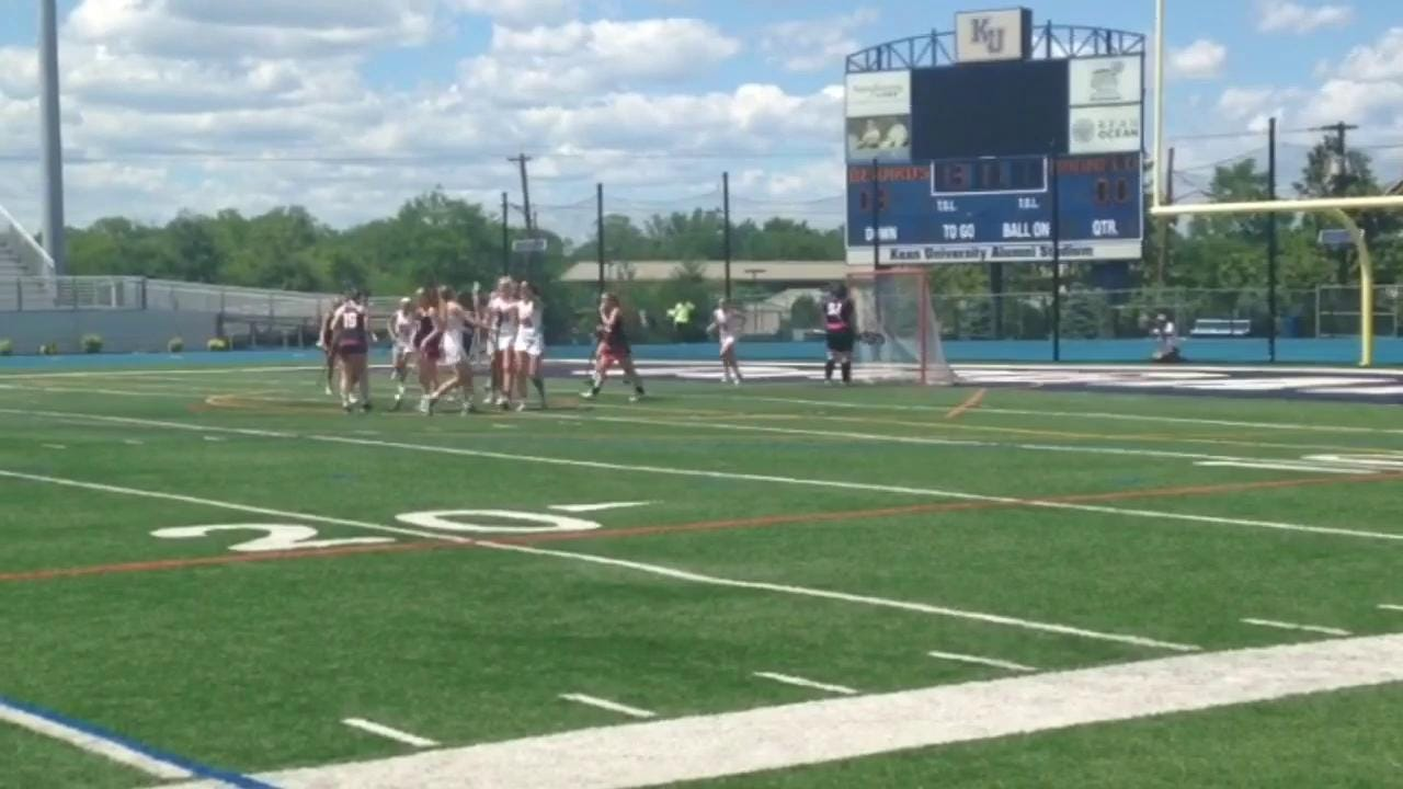 Haddonfield-Bernards girls lacrosse highlights
