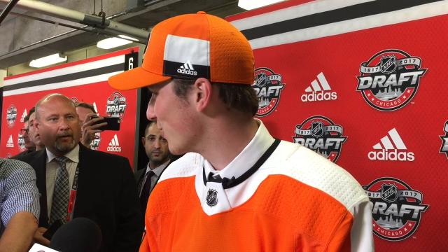 WATCH: Nolan Patrick selected by Flyers at No. 2
