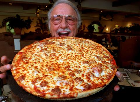 In 2014, Buddy LaRosa, his sons Michael and Mark, and his grandson Nick talk about 60 years of Larosa's Pizza.