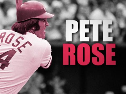 Pete Rose on Opening Day