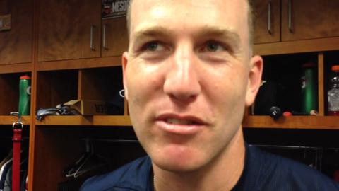 The Reds' Todd Frazier talks about reaching finals of Home Run Derby Monday.