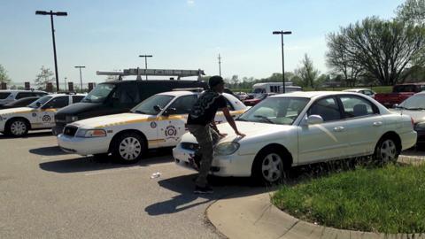 Witness reenacts deputy shooting of Ramsey