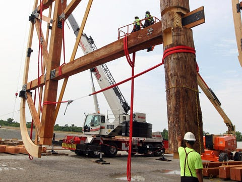 500-foot, $86 million ark takes shape in Grant County