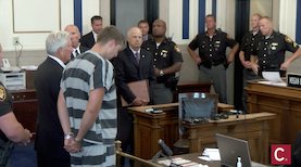 Ray Tensing arraignment