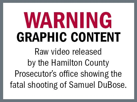 Police bodycam video showing shooting of Samuel DuBose