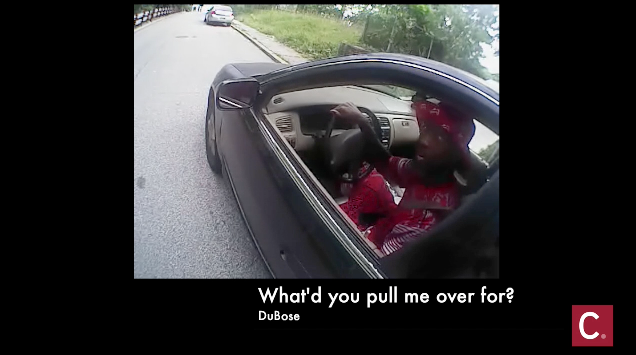 Samuel DuBose shooting with subtitles