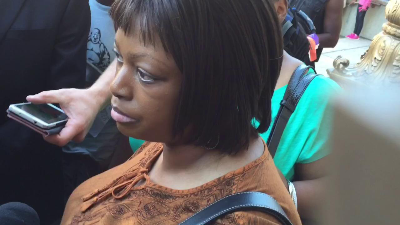 Samuel DuBose's sister speaks after arraignment