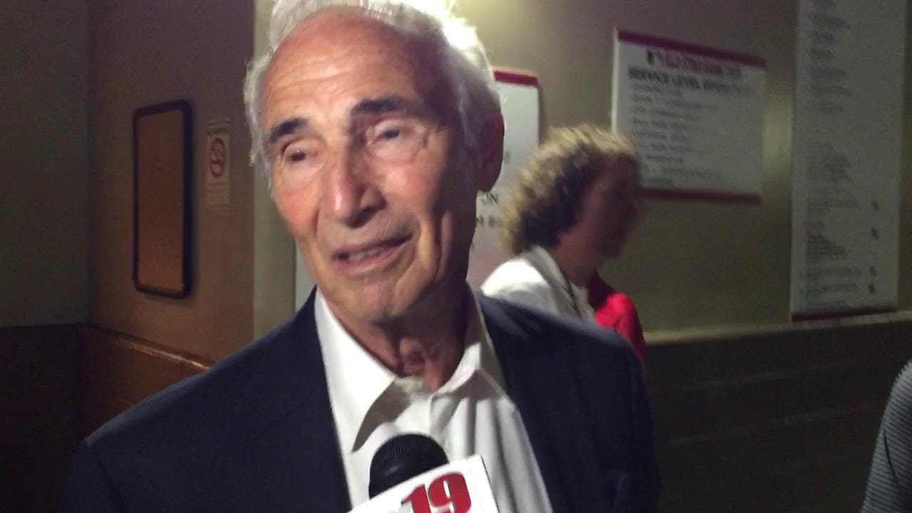 Sandy Koufax on the ASG, first pitch