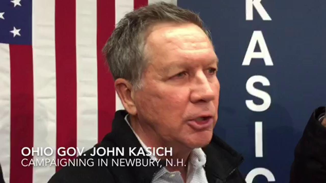 Kasich: Iowa doesn't 'translate' to NH