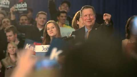Kasich declares victory over Trump in Ohio primary