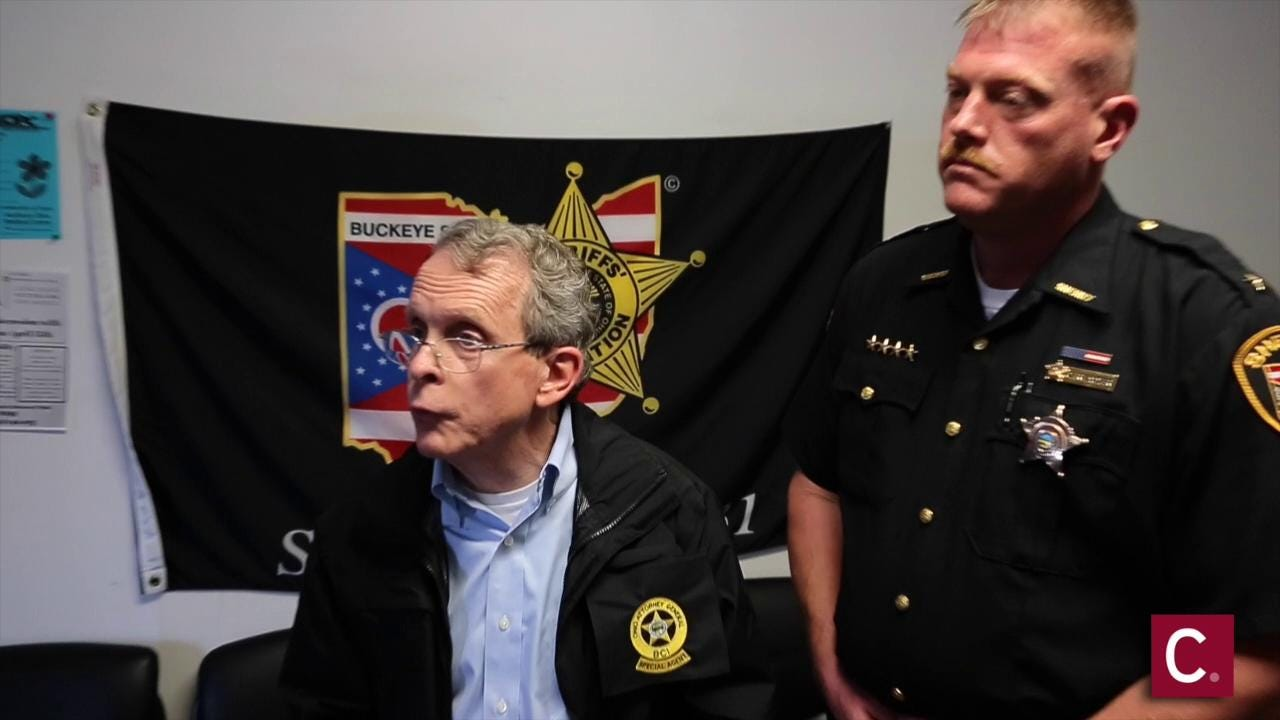 Mike DeWine answers questions about Pike Co. shootings