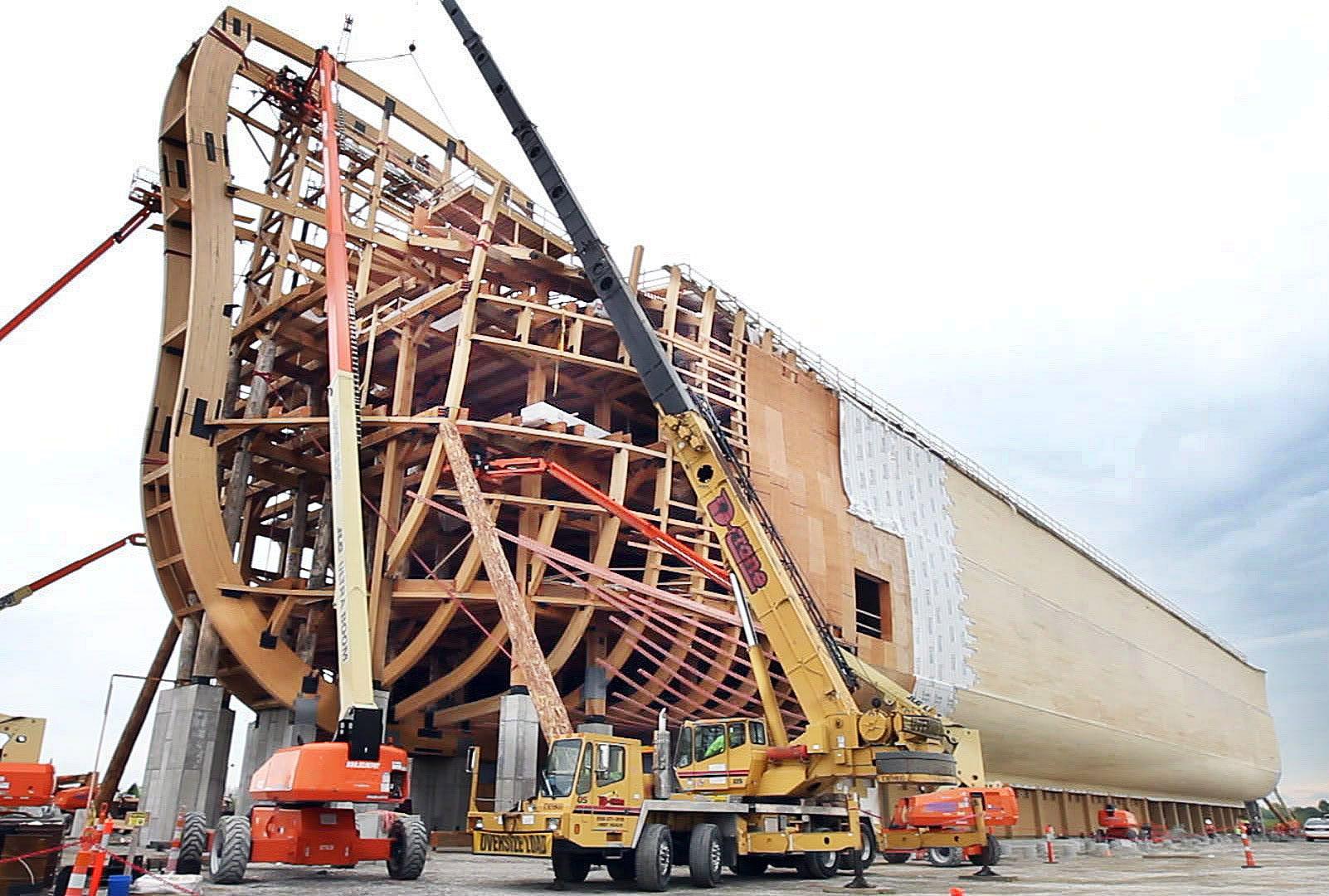 Ken Ham talks construction of Ark Encounter