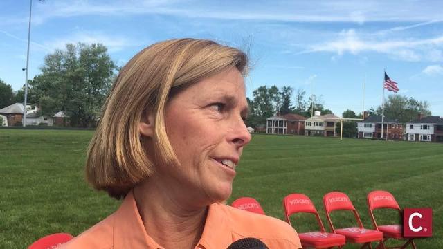 Bengals Vp Katie Blackburn On Deer Park Donation