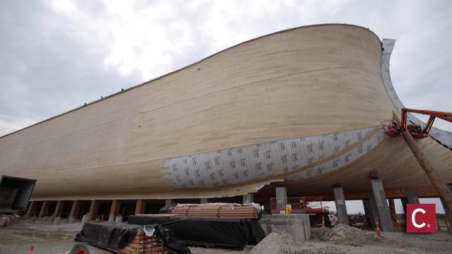 Ken Ham talks size, meaning of Ark Encounter