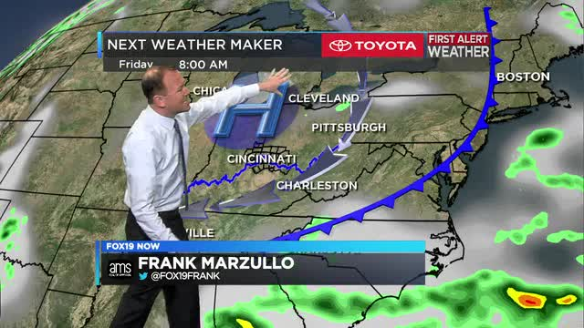 Frank Marzullo's weather forecast