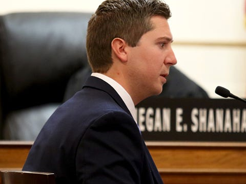 Ray Tensing takes the stand in his defense