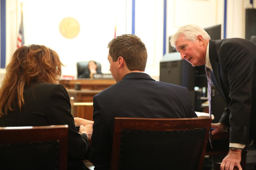 Defense makes its closing arguments in the Tensing Trial