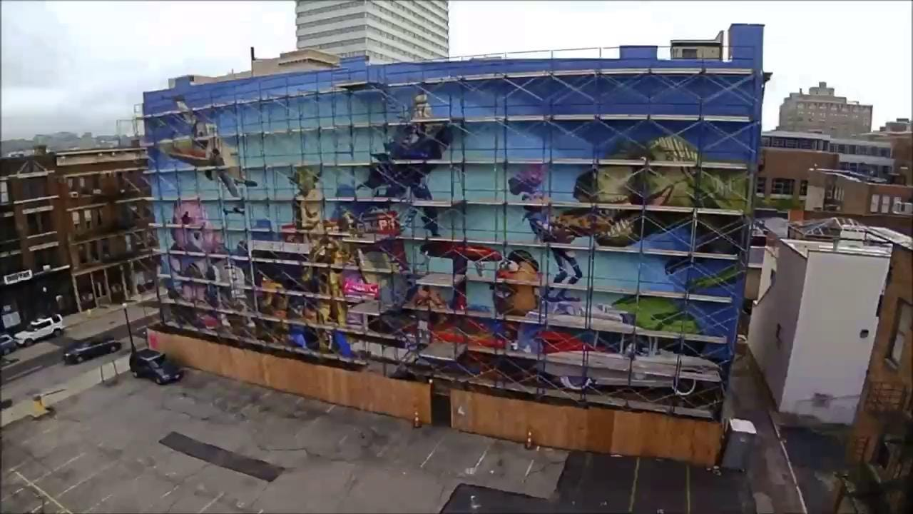 A Guide To The Cool Toys On Cincinnatis New Mural