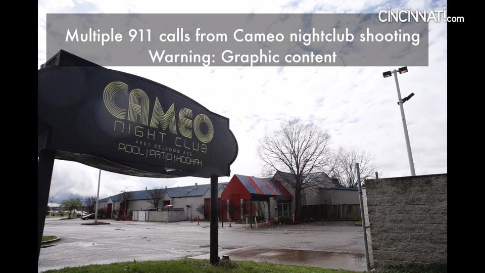 911 calls from the Cameo nightclub shootings