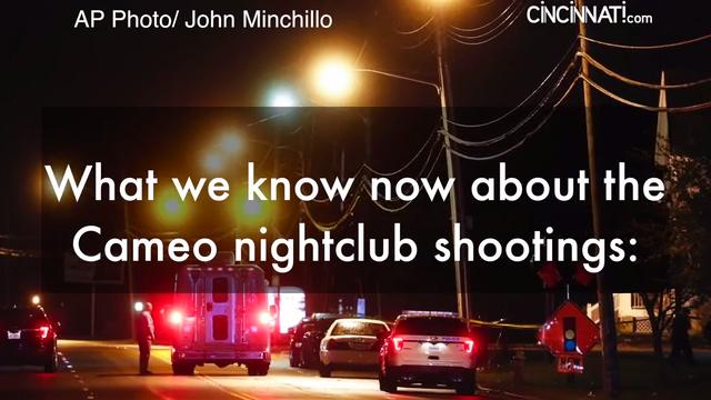 What we know about the Cameo nightclub shootings