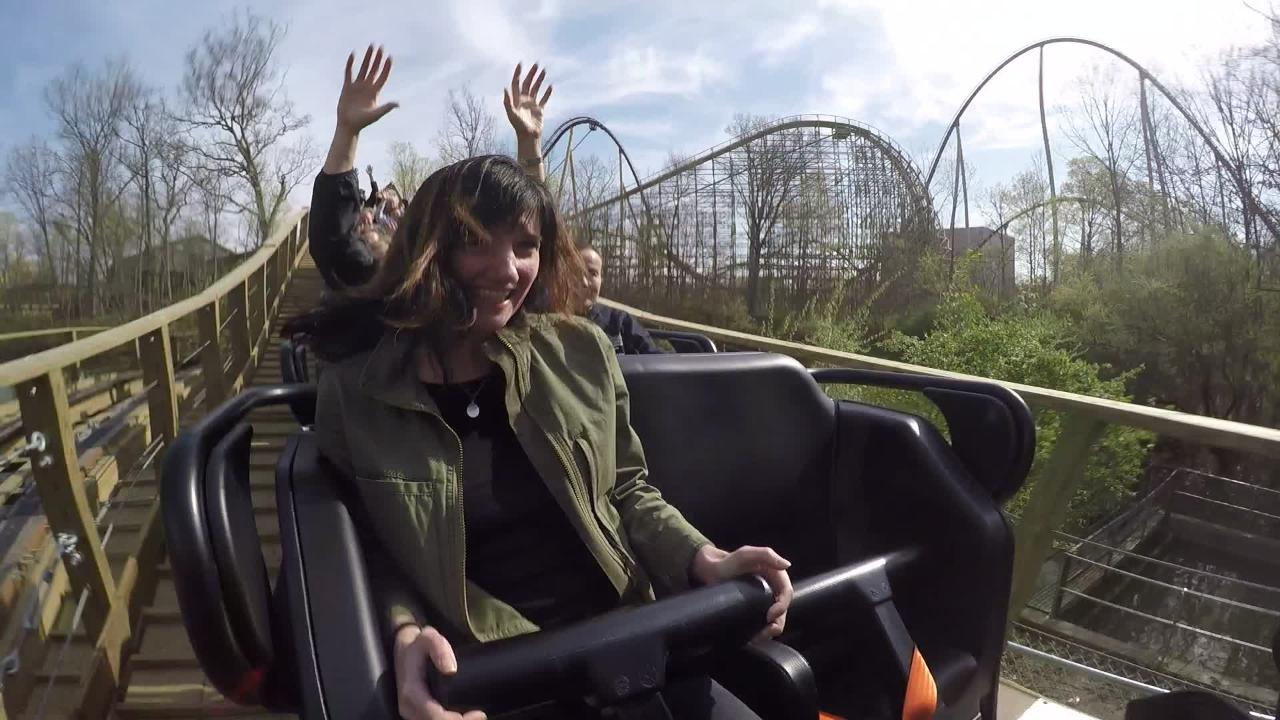 Enquirer reporter takes a ride on Kings Island's new roller coaster