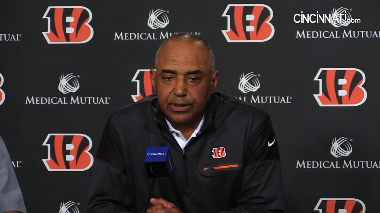 Bengals coaches talk NFL Draft second pick Joe Mixon
