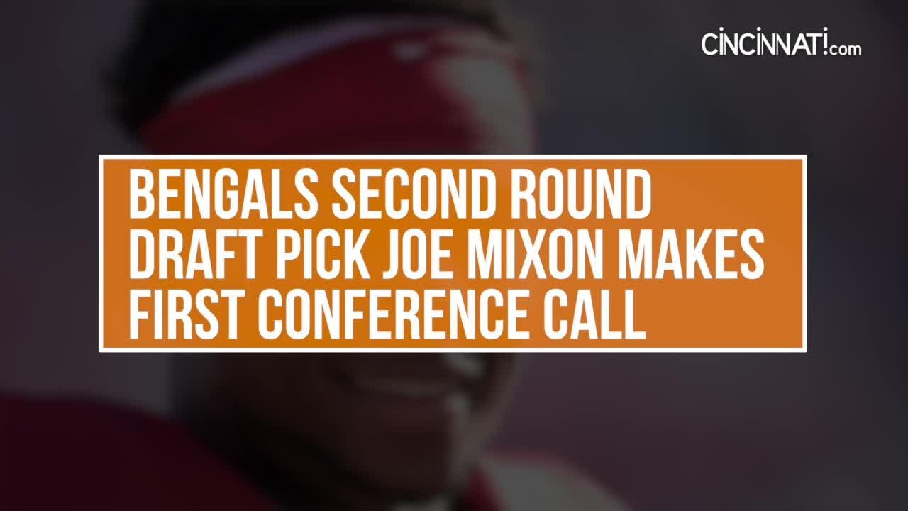 Bengals second round pick Joe Mixon makes first conference call