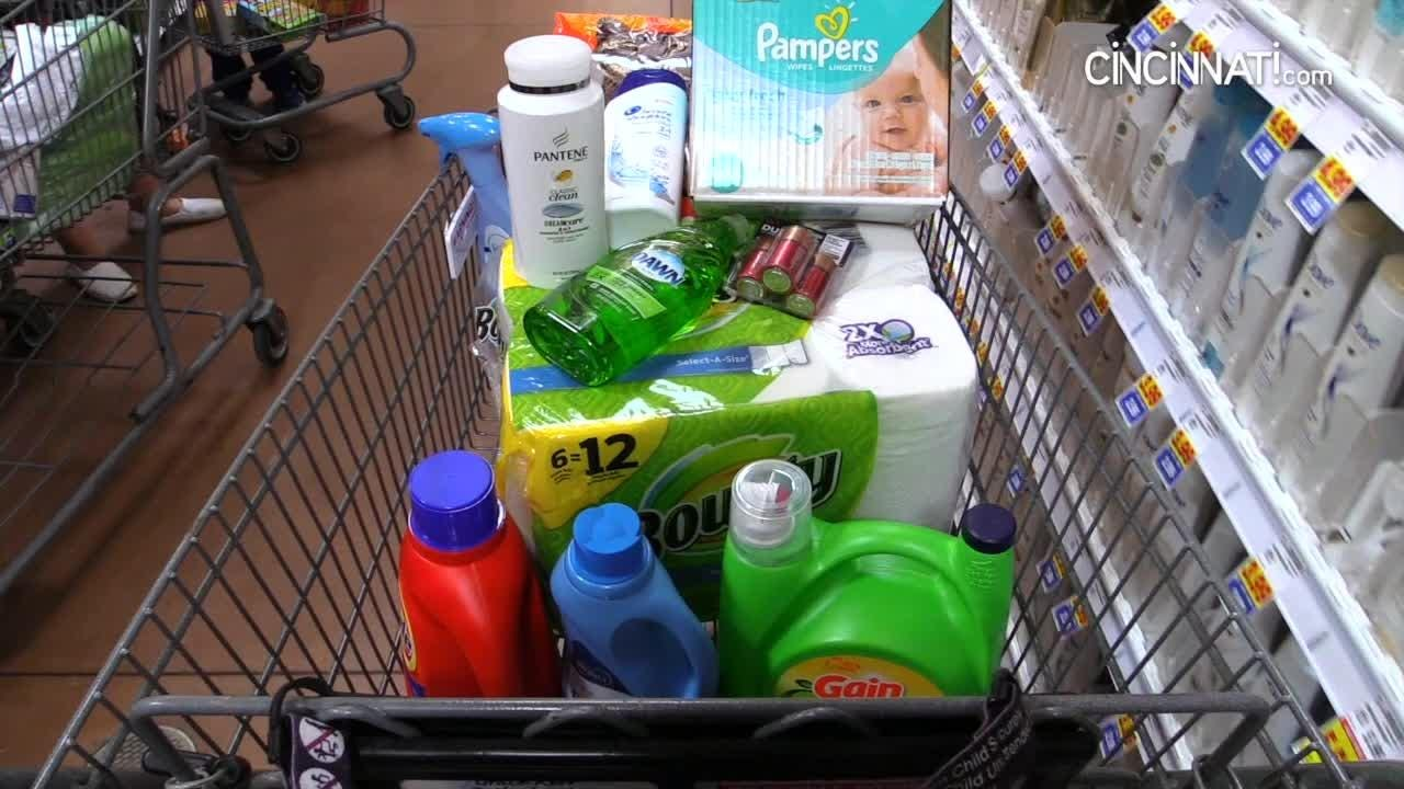 Is your shopping cart full of Procter & Gamble products?