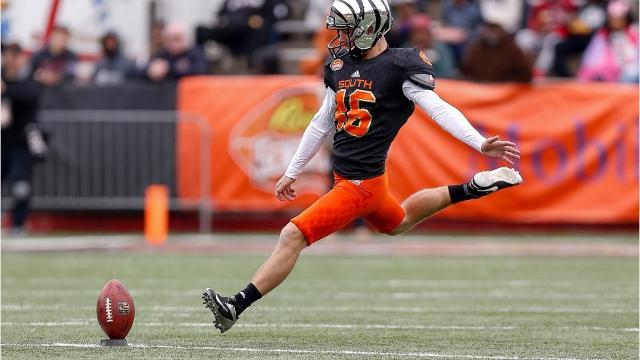 Cincinnati Bengals rookie kicker Jake Elliott on being drafted