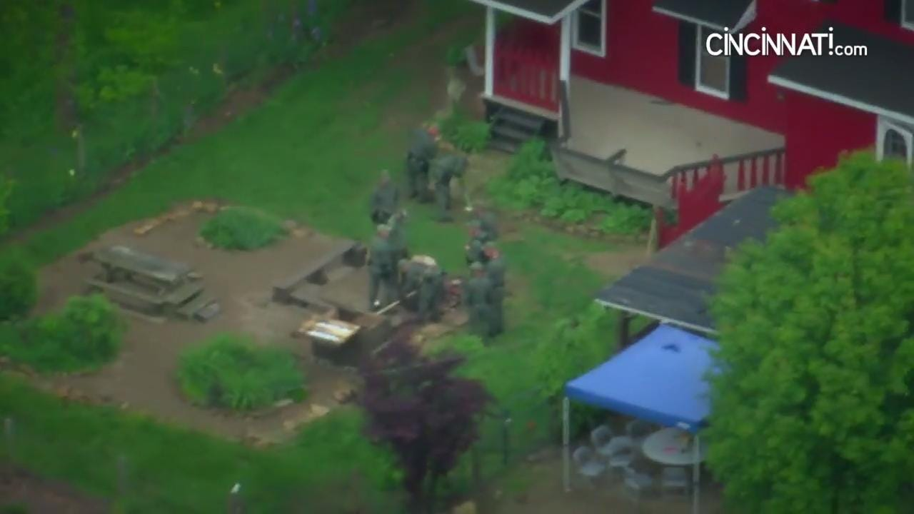 Investigators search farm 10 miles from scene of Rhoden family massacre