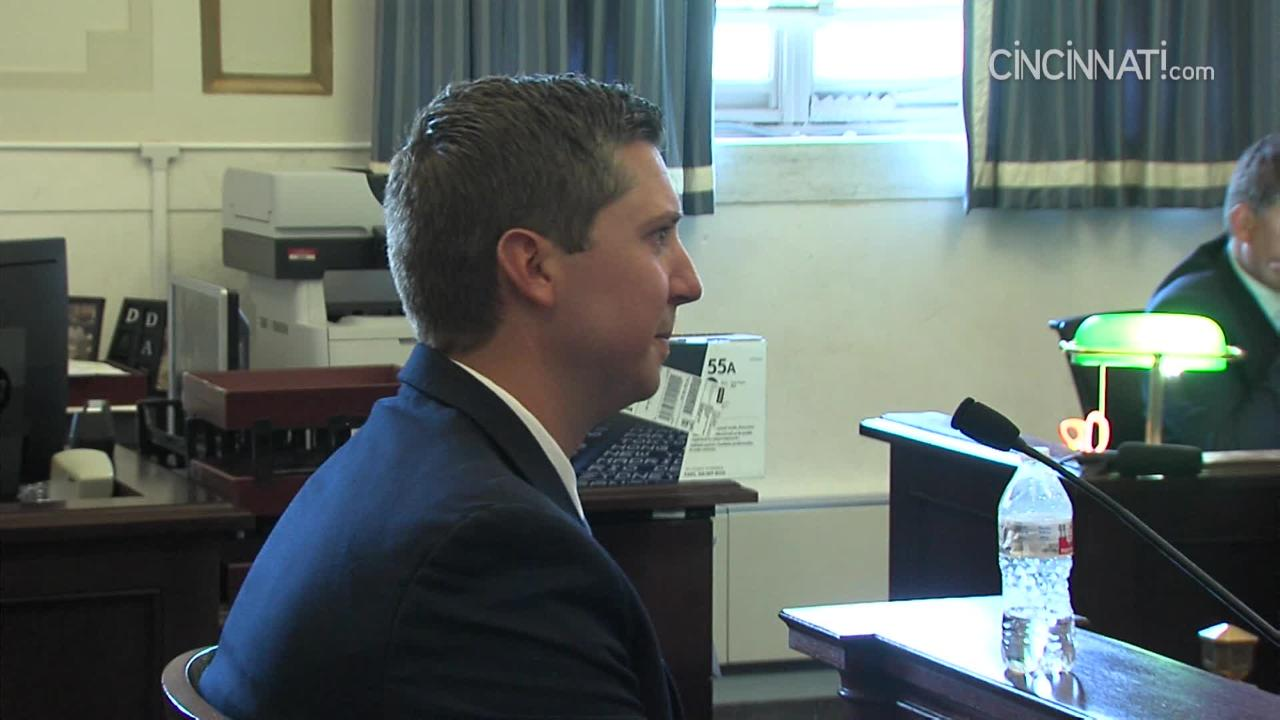 Ray Tensing testifies in retrial