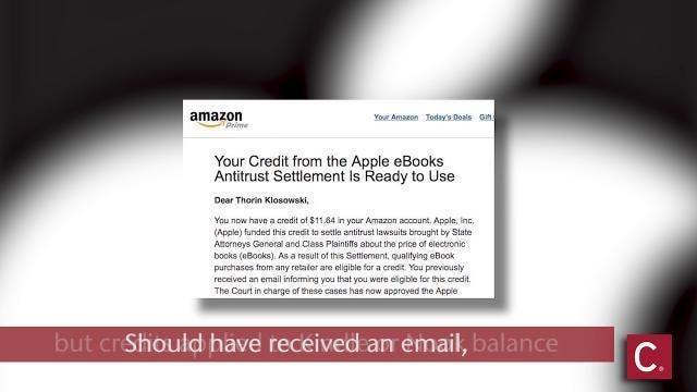 Hurry, deadline's coming on ebook refund