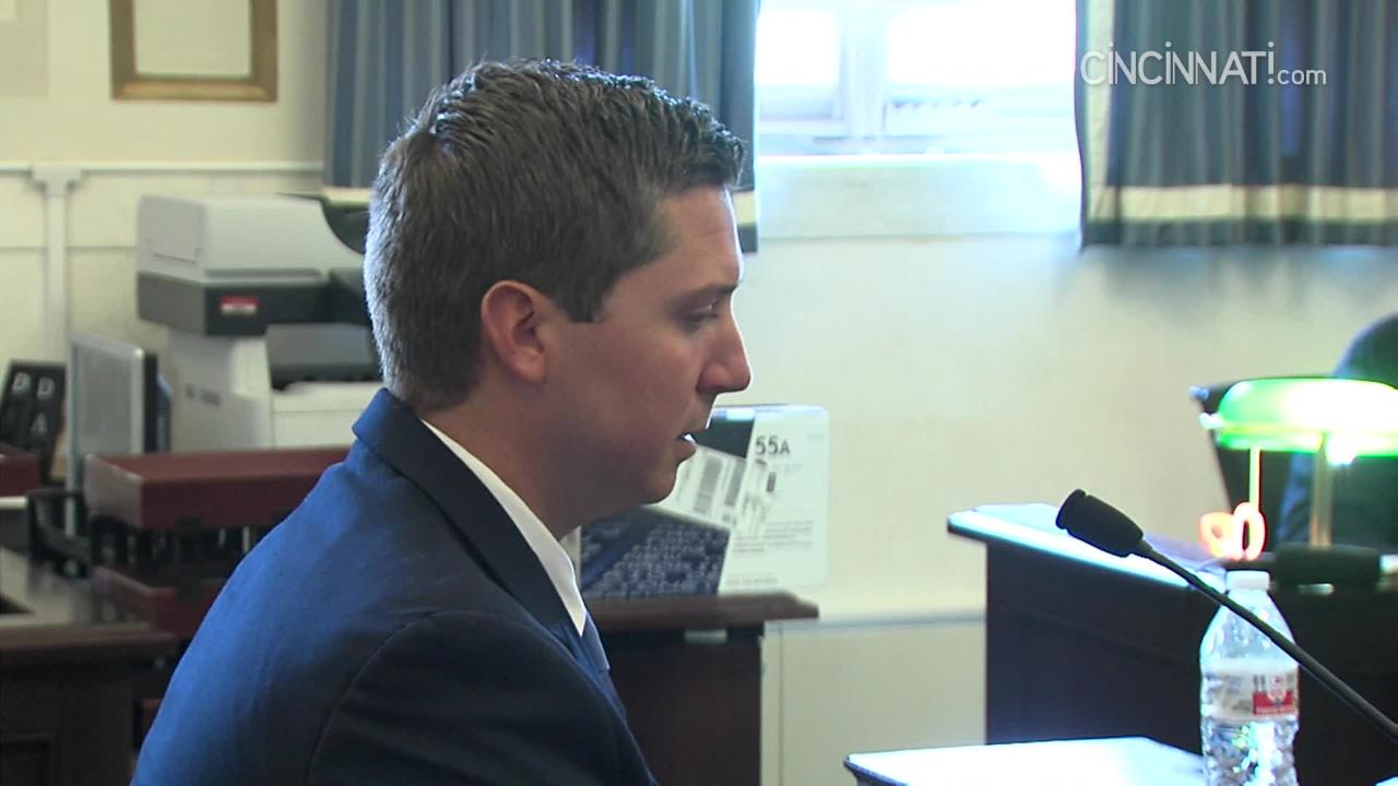 Ray Tensing takes the stand