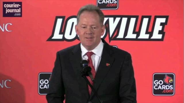 Bobby Petrino and Tom Jurich trade one-liners