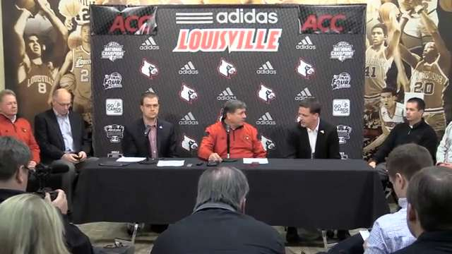 Video | Louisville announces contract extension with adidas