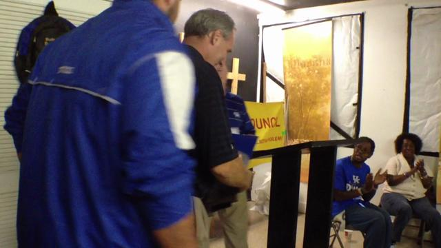 Video | Watch UK coach Stoops surprise OL Godby