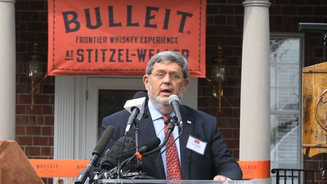 Video | Bulleit bourbon visitors' center opens