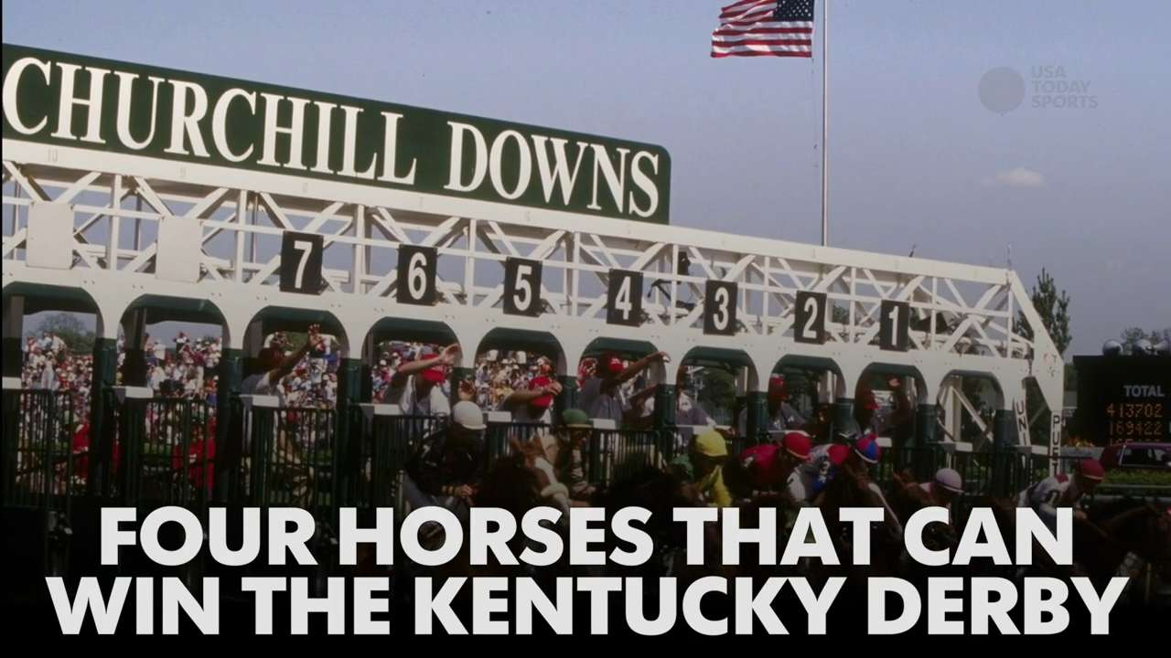 Video | Four horses that can win the Kentucky Derby