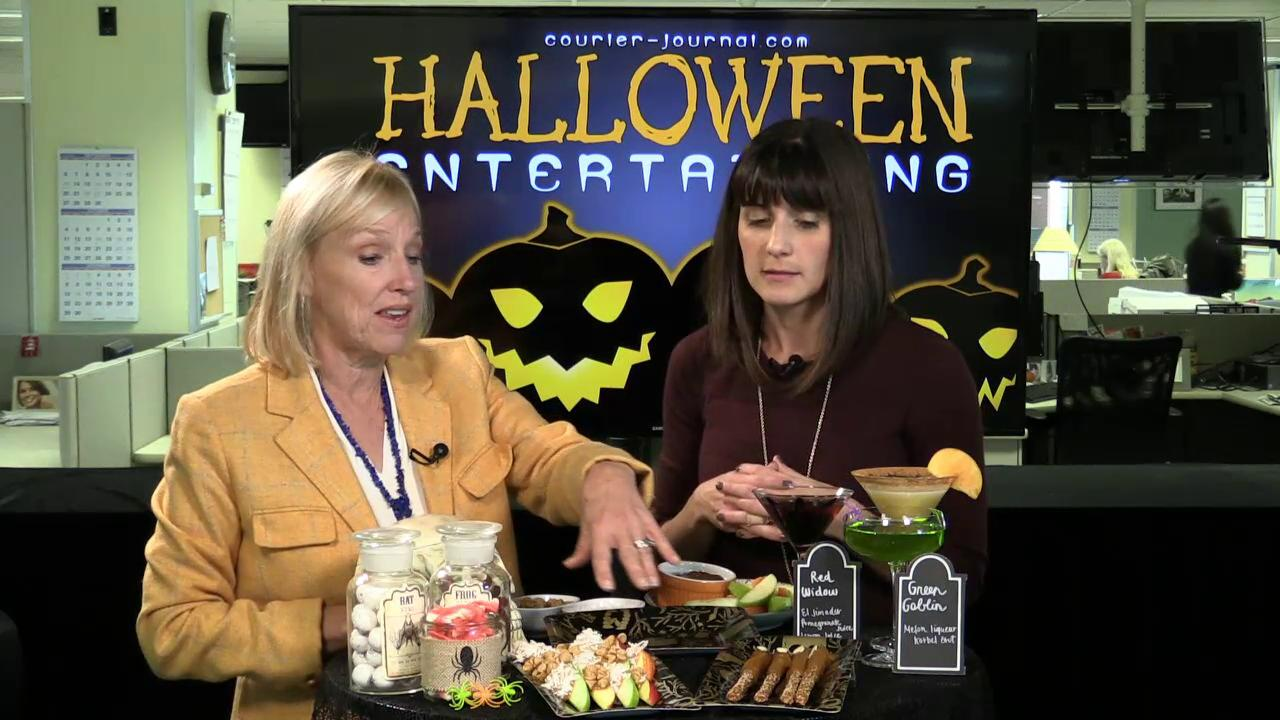 video | kirby adams features some fun halloween party ideas